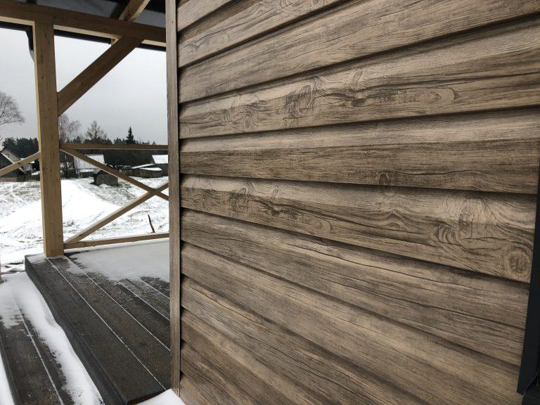 Vecto LT Siding medienos imitacija
